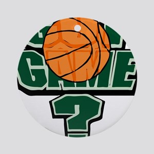 GOT GAME? [green} Ornament (Round)